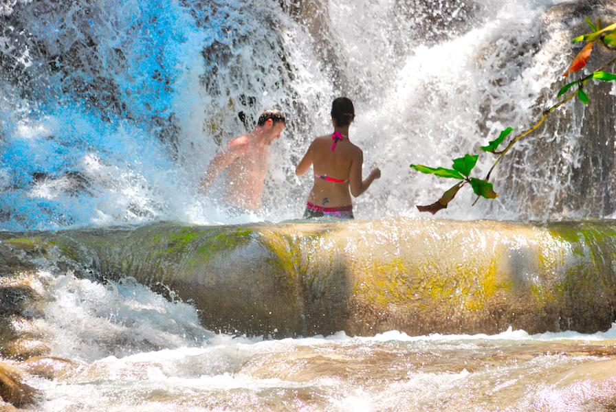 Jamaika Deluxe Dunns River Falls