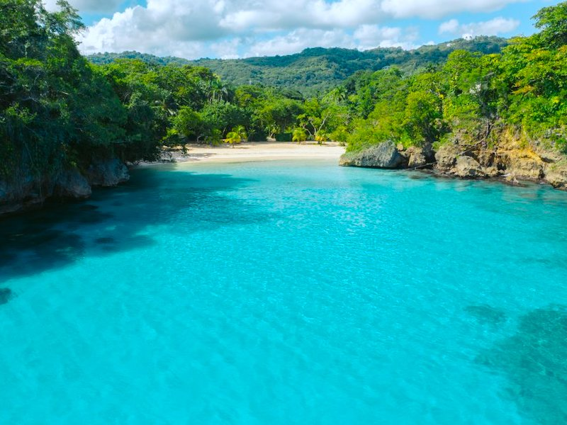 Port Antonio Jamaika Frenchmans Cove Beach