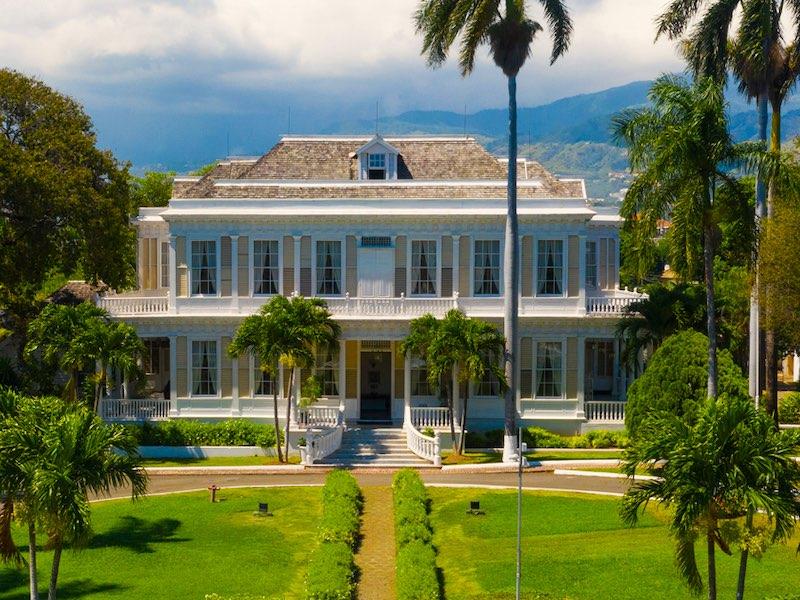Kingston Jamaika Devon House