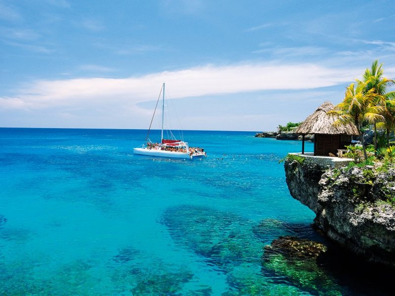Negril Jamaika Beach Westend