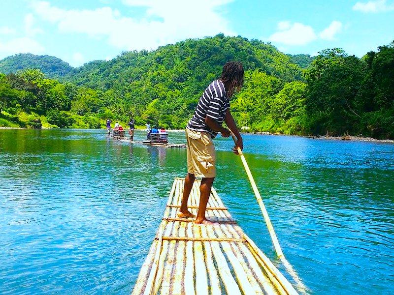 Port Antonio Jamaika Rio Grand Rafting